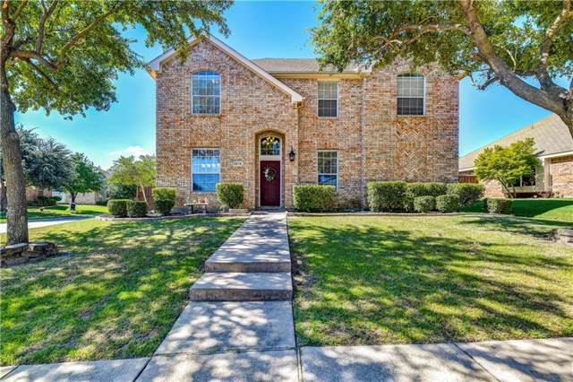 5218 Griffins Pointe Drive, Rowlett, TX 75089 (MLS #14139580) :: Baldree Home Team