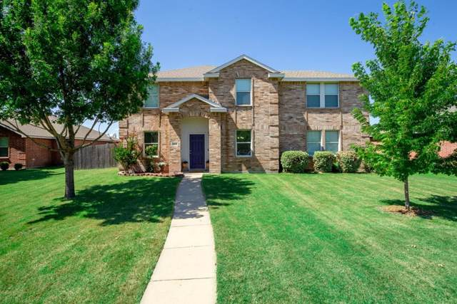 2903 Glendale Drive, Wylie, TX 75098 (MLS #14139729) :: RE/MAX Town & Country