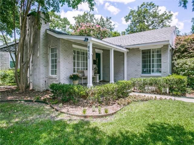 6435 Sondra Drive, Dallas, TX 75214 (MLS #14139908) :: RE/MAX Town & Country