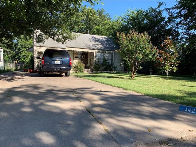 1424 Lawrence Road, River Oaks, TX 76114 (MLS #14139927) :: RE/MAX Town & Country