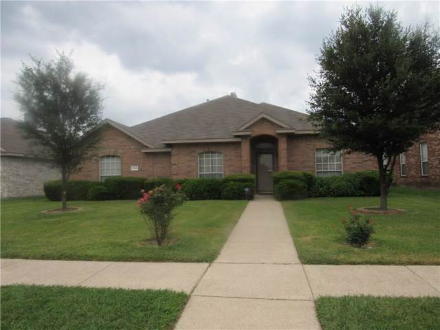 1134 Suffolk Lane, Cedar Hill, TX 75104 (MLS #14139933) :: RE/MAX Town & Country