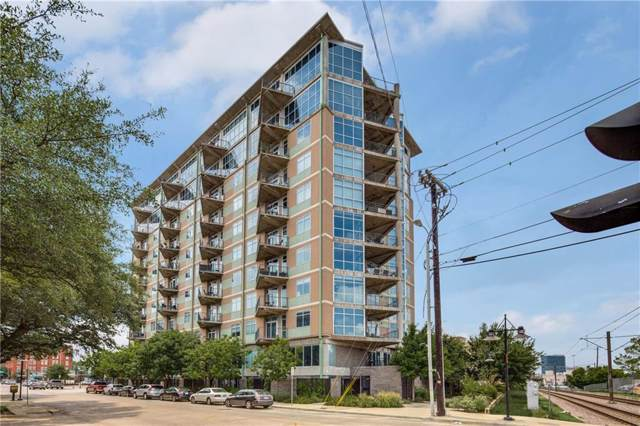 1001 Belleview Street #105, Dallas, TX 75215 (MLS #14139956) :: HergGroup Dallas-Fort Worth