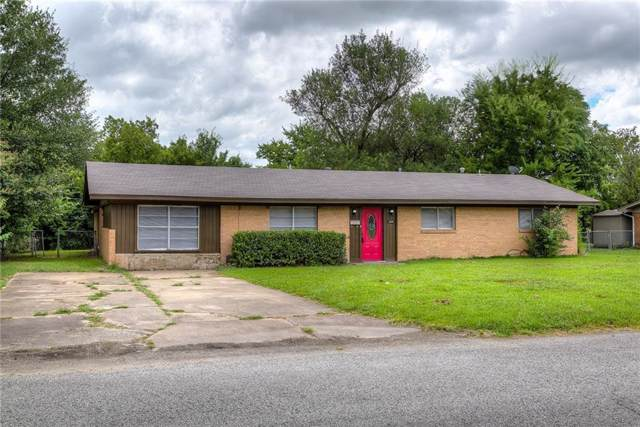 2508 Park Street, Commerce, TX 75428 (MLS #14140002) :: RE/MAX Town & Country