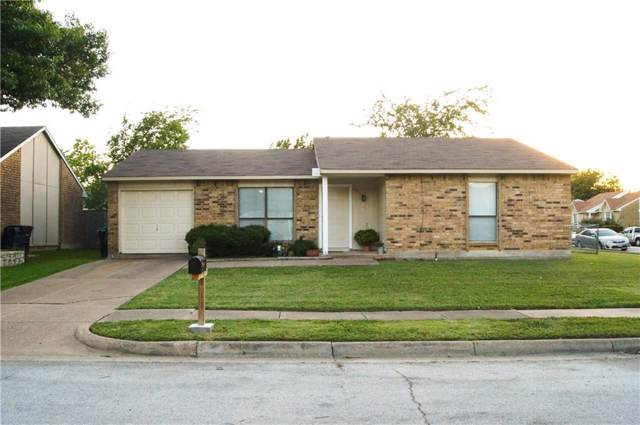 6956 Sunflower Circle N, Fort Worth, TX 76120 (MLS #14140041) :: All Cities Realty