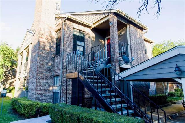 5859 Frankford Road #412, Dallas, TX 75252 (MLS #14140201) :: The Real Estate Station