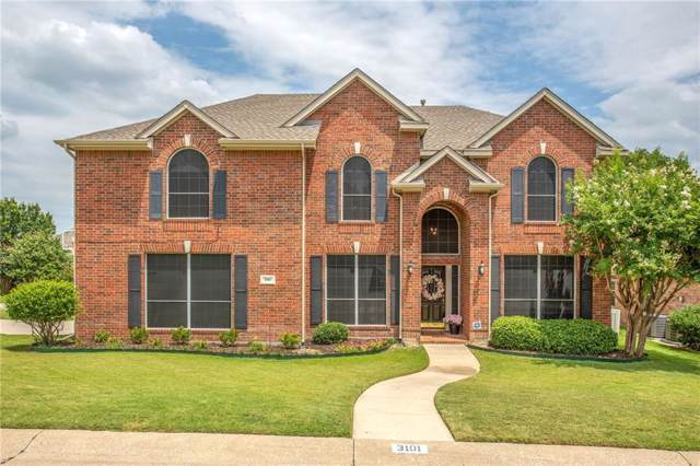 3101 Green Hollow Court, Highland Village, TX 75077 (MLS #14140221) :: All Cities Realty