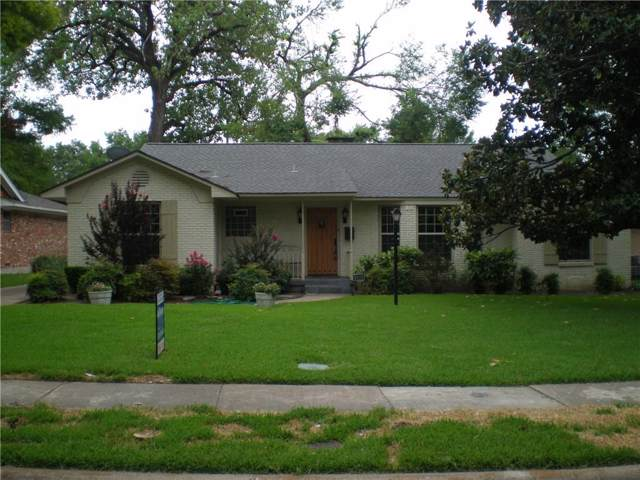 9820 Buxhill Drive, Dallas, TX 75238 (MLS #14140235) :: RE/MAX Town & Country