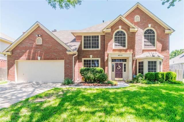 4512 Rosedale Drive, Grand Prairie, TX 75052 (MLS #14140264) :: RE/MAX Town & Country