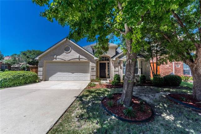1636 Garrison Drive, Frisco, TX 75033 (MLS #14140359) :: RE/MAX Town & Country