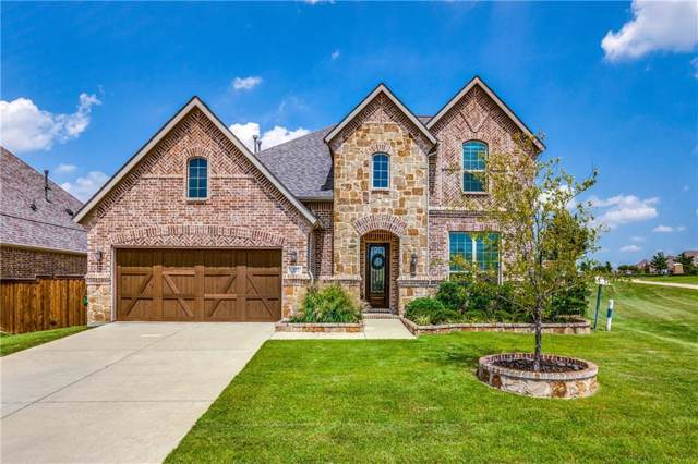 881 Yellowcress Dr, Prosper, TX 75078 (MLS #14140377) :: RE/MAX Town & Country