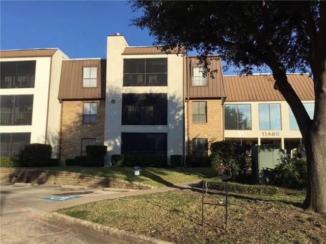 11480 Audelia Road #247, Dallas, TX 75243 (MLS #14140379) :: Roberts Real Estate Group