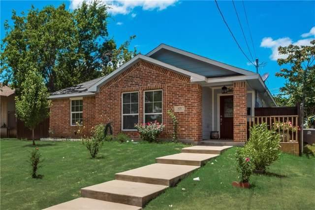 629 N Boulevard Terrace, Dallas, TX 75211 (MLS #14140404) :: Magnolia Realty