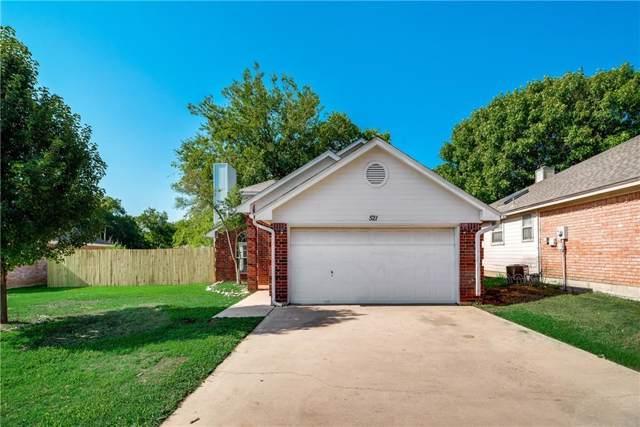 521 Oak Ridge Court, Crowley, TX 76036 (MLS #14140498) :: The Mitchell Group