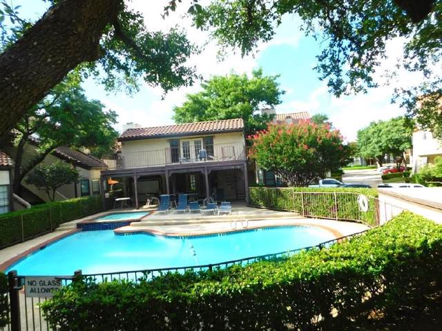 5590 Spring Valley Road F103, Dallas, TX 75254 (MLS #14140520) :: RE/MAX Town & Country