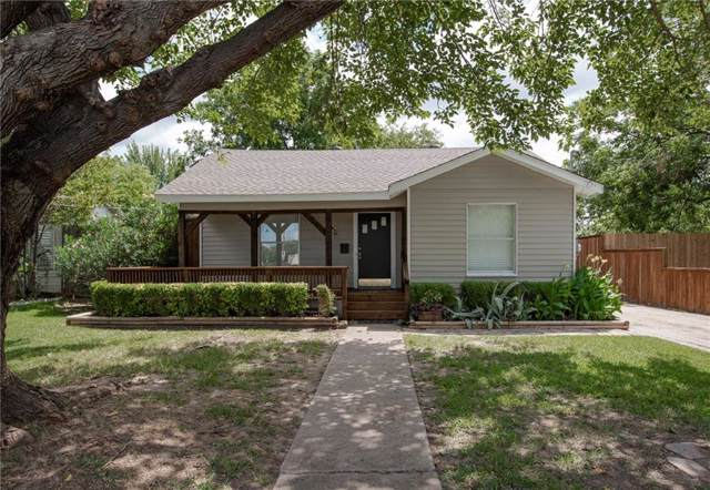 312 S Ebrite Street, Mesquite, TX 75149 (MLS #14140553) :: RE/MAX Town & Country