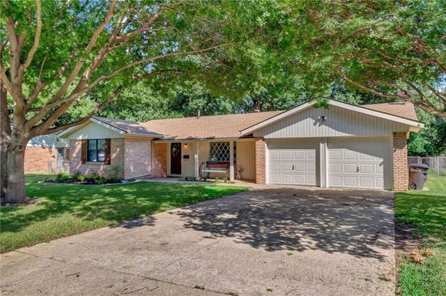 3509 Wedgway Drive, Fort Worth, TX 76133 (MLS #14140731) :: RE/MAX Town & Country