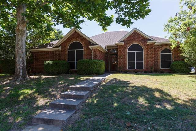 5918 Covington Drive, Rowlett, TX 75089 (MLS #14140804) :: RE/MAX Town & Country