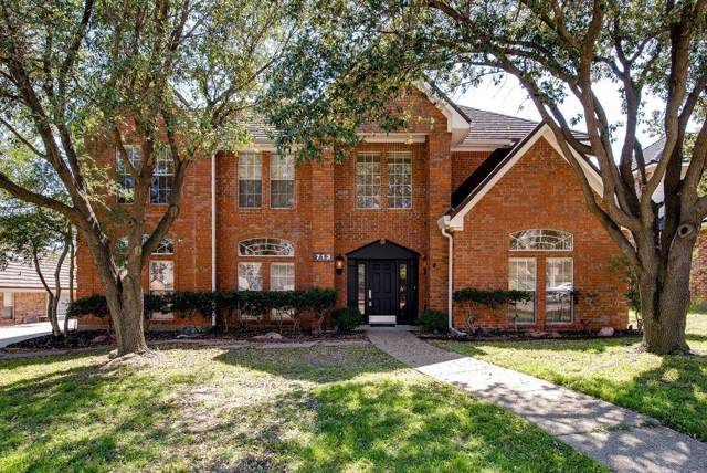713 Paul Drive, Hurst, TX 76054 (MLS #14140836) :: RE/MAX Town & Country