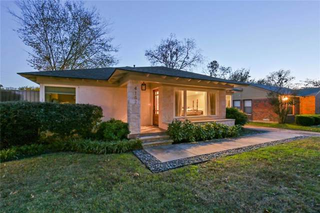 4132 Saranac Drive, Dallas, TX 75220 (MLS #14140949) :: RE/MAX Town & Country