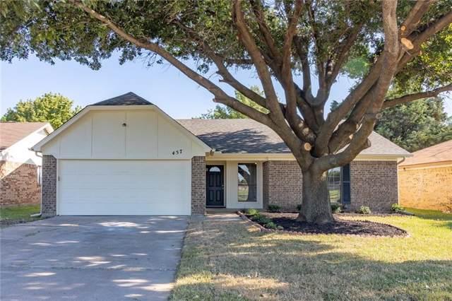 457 Hovenkamp Street, Keller, TX 76248 (MLS #14141050) :: Frankie Arthur Real Estate