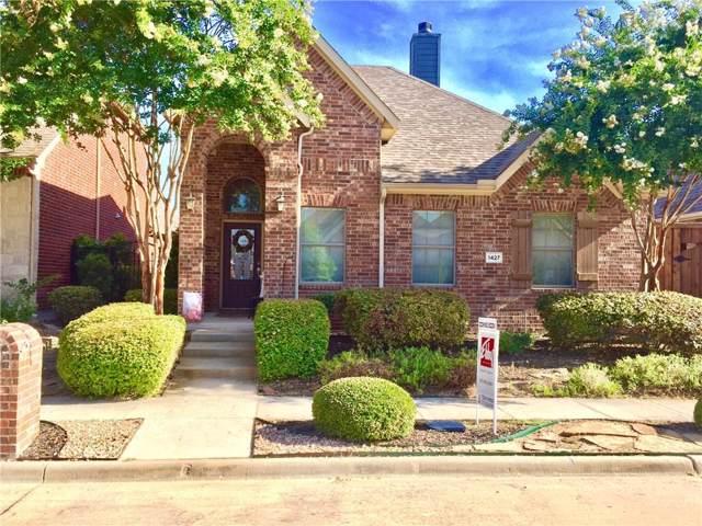 1427 Snowberry Drive, Allen, TX 75013 (MLS #14141074) :: Tenesha Lusk Realty Group