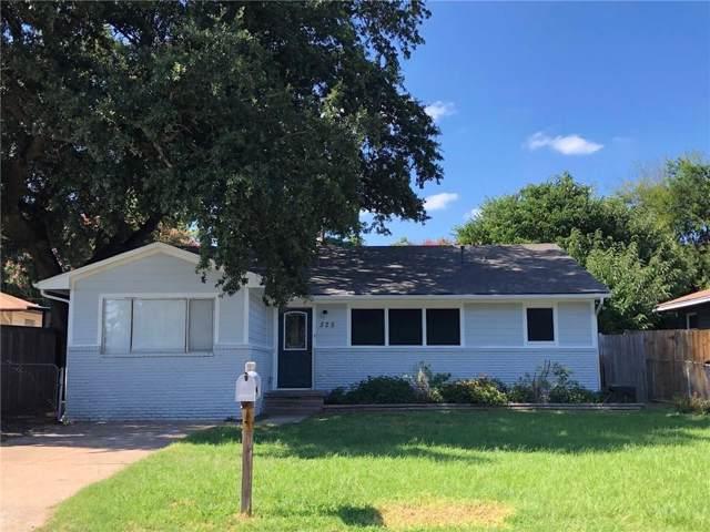 525 W Brock Street, Denison, TX 75020 (MLS #14141114) :: RE/MAX Town & Country