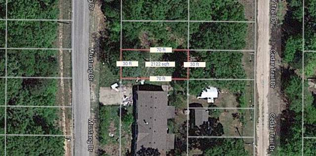 Lot 547 Mustang Drive, Mabank, TX 75156 (MLS #14141159) :: RE/MAX Town & Country