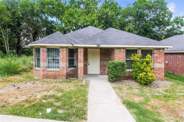 2519 Kirkley Street, Dallas, TX 75241 (MLS #14141195) :: Lynn Wilson with Keller Williams DFW/Southlake