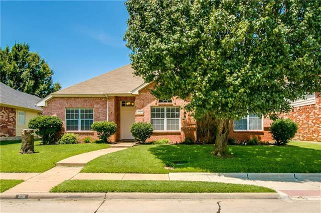 2128 Fountain Drive, Lewisville, TX 75067 (MLS #14141210) :: The Real Estate Station