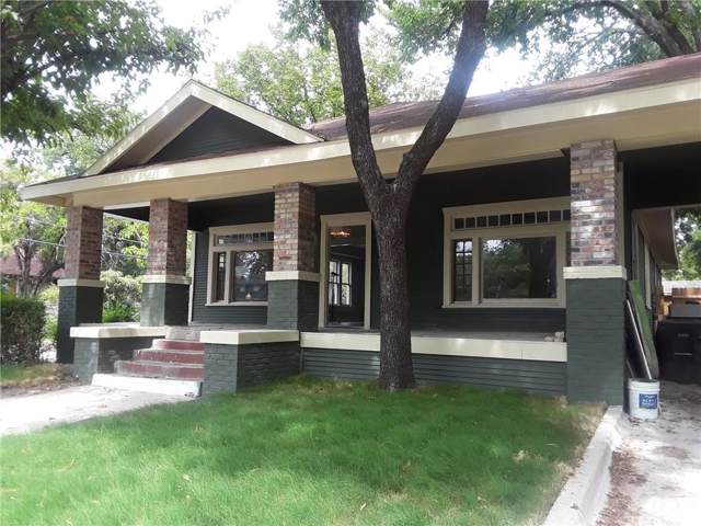 2001 Hurley Avenue, Fort Worth, TX 76110 (MLS #14141219) :: The Mitchell Group