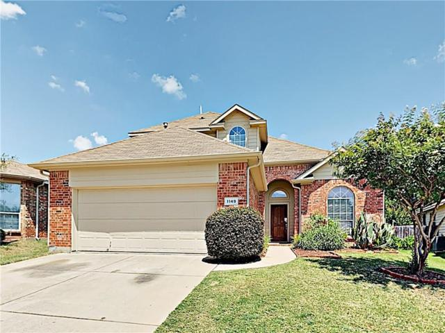 1149 Fairweather Drive, Fort Worth, TX 76120 (MLS #14141331) :: RE/MAX Town & Country
