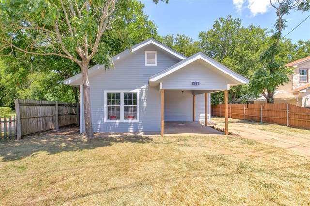 404 Granbury Street, Cleburne, TX 76033 (MLS #14141332) :: Lynn Wilson with Keller Williams DFW/Southlake