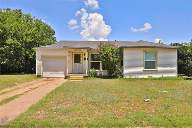 3134 S 16th Street, Abilene, TX 79605 (MLS #14141371) :: The Tonya Harbin Team