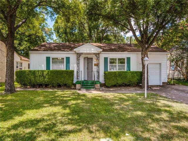 111 Whitham Street, Irving, TX 75060 (MLS #14141372) :: The Star Team | JP & Associates Realtors