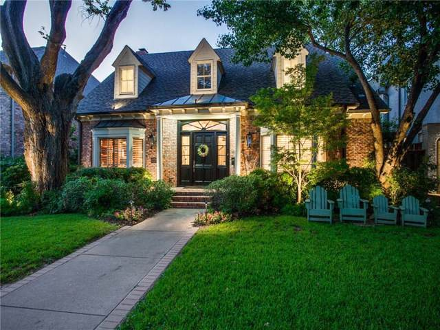 2924 Stanford Avenue, University Park, TX 75225 (MLS #14141438) :: Lynn Wilson with Keller Williams DFW/Southlake