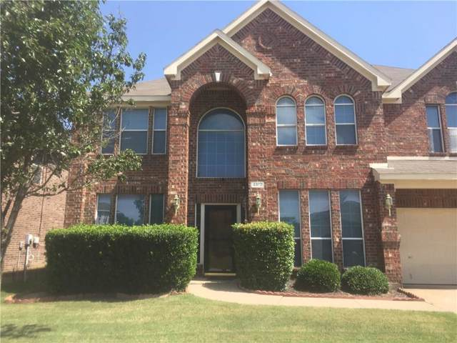 4812 Grapevine Terrace, Fort Worth, TX 76123 (MLS #14141449) :: Lynn Wilson with Keller Williams DFW/Southlake