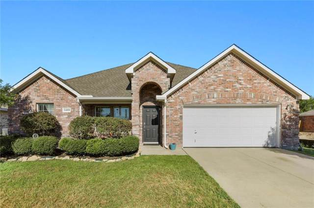 3409 Doris Drive, Denton, TX 76207 (MLS #14141452) :: Baldree Home Team