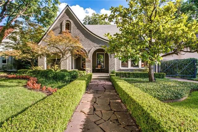 5146 Monticello Avenue, Dallas, TX 75206 (MLS #14141595) :: Vibrant Real Estate