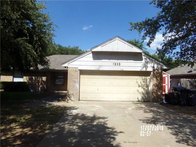 1303 Clearfield Drive, Cleburne, TX 76033 (MLS #14141662) :: All Cities Realty
