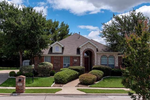 4100 Glenwyck Drive, North Richland Hills, TX 76180 (MLS #14141692) :: RE/MAX Town & Country