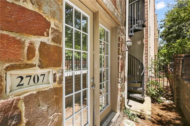 2707 Gaston Avenue, Dallas, TX 75226 (MLS #14141915) :: Lynn Wilson with Keller Williams DFW/Southlake