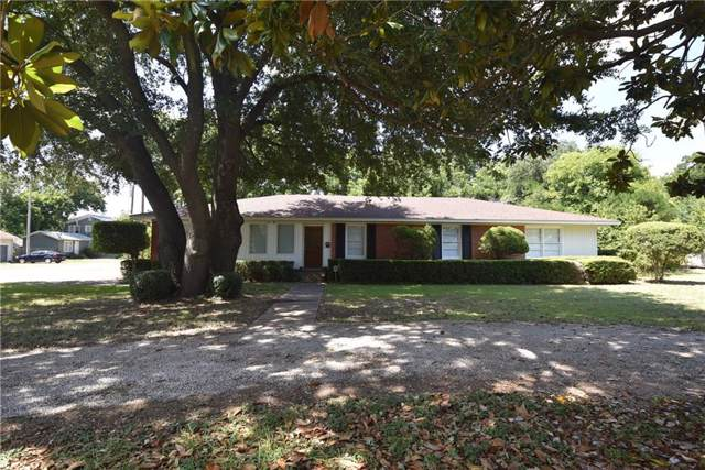 1101 E Walnut Street, Hillsboro, TX 76645 (MLS #14141964) :: Lynn Wilson with Keller Williams DFW/Southlake