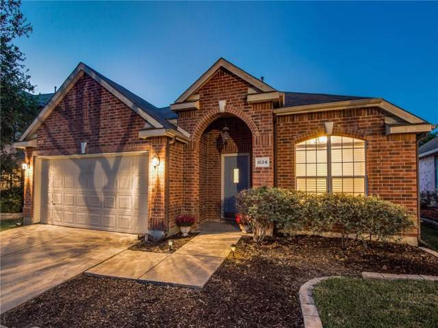1024 Piedmont Drive, Mckinney, TX 75071 (MLS #14141982) :: The Heyl Group at Keller Williams