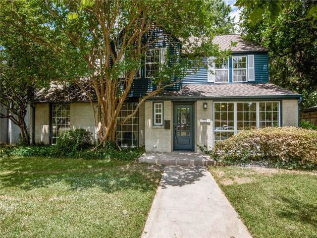 6867 Gaston Avenue, Dallas, TX 75214 (MLS #14142145) :: Lynn Wilson with Keller Williams DFW/Southlake