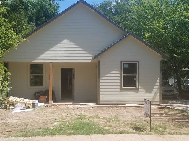 1327 E Jefferson Avenue, Fort Worth, TX 76104 (MLS #14142178) :: RE/MAX Town & Country