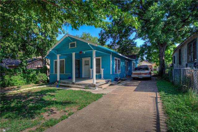 315 E 7th Street, Dallas, TX 75203 (MLS #14142276) :: All Cities Realty