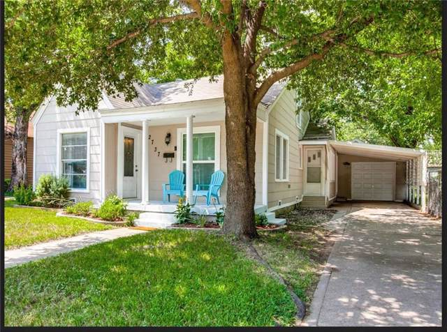 2737 Marigold Avenue, Fort Worth, TX 76111 (MLS #14142325) :: RE/MAX Town & Country