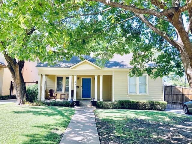 6031 Goliad Avenue, Dallas, TX 75206 (MLS #14142398) :: Tenesha Lusk Realty Group