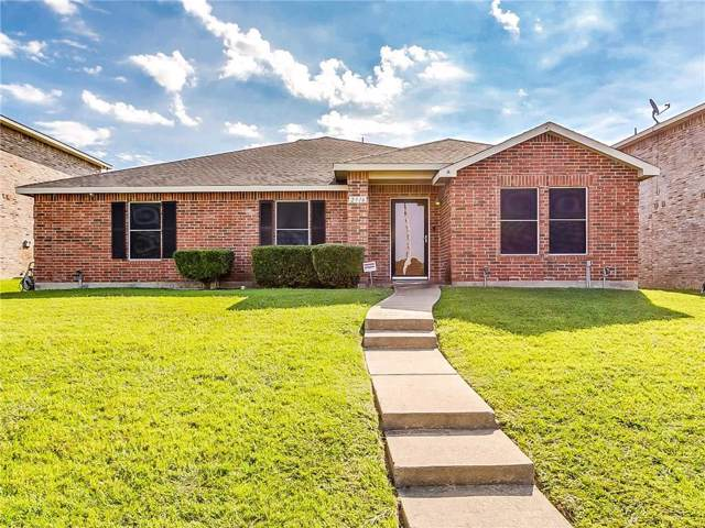 2916 Cottage Lane, Lancaster, TX 75134 (MLS #14142410) :: RE/MAX Town & Country