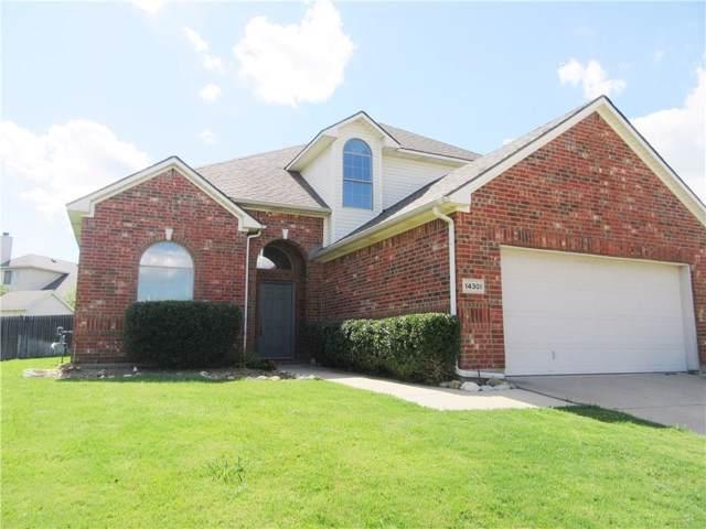 14301 Polo Ranch Street, Fort Worth, TX 76052 (MLS #14142443) :: Lynn Wilson with Keller Williams DFW/Southlake